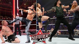 WWE Summerslam 11th August 2019 - Roman reigns Wins 60 Sec Match! 5 Things Could Happen Brock Lesnar