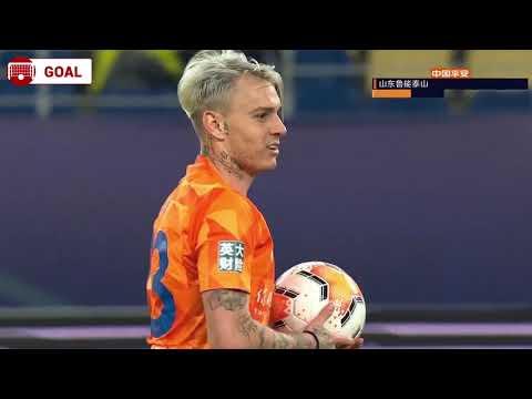 Roger Guedes Goal 79' - Shandong Luneng [2] - 2 Hebei CFFC (AGG [4]-4)