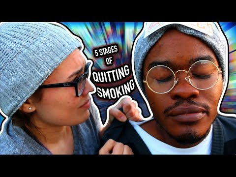 5 Stages of Quitting Smoking