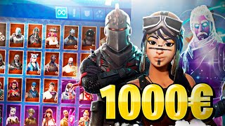😱 I buy an ACCOUNT of 1000 euros with the skin RENEGADA in FORTNITE I leave without words this.... 💸