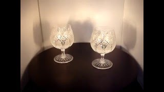 How to drink the best cognac? From Set of 2 Bohemia Crystal Cognac Glasses 300ml in MT Decor