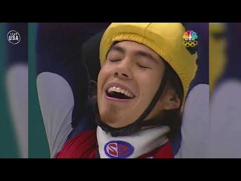 Gold Medal Moments Presented By HERSHEY'S | Apolo Ohno Wins 1,500-Meter Gold In 2002