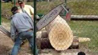 Gambar cover Chainsaw Action from the Buckley Log Show