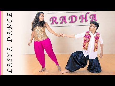 RADHA– DANCE COVER - Esha & Shiva   Jab Harry Met Sejal   Shah Rukh Khan   Anushka Sharma