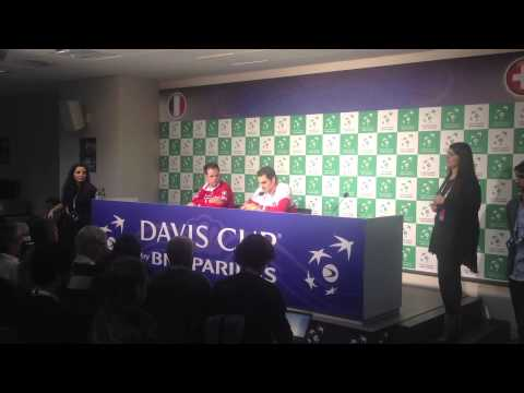 Federer, Stan, Jo et la Monf' au micro