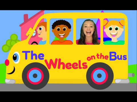 Thumbnail: The Wheels on the Bus - Nursery Rhymes for Children, Kids and Toddlers