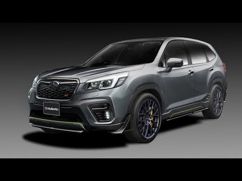 Subaru Forester Hybrid teased in Japan, in sporty
