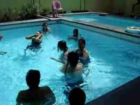 santos family outing swimming pool video youtube. Black Bedroom Furniture Sets. Home Design Ideas