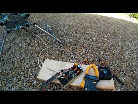 Drone brushless generator