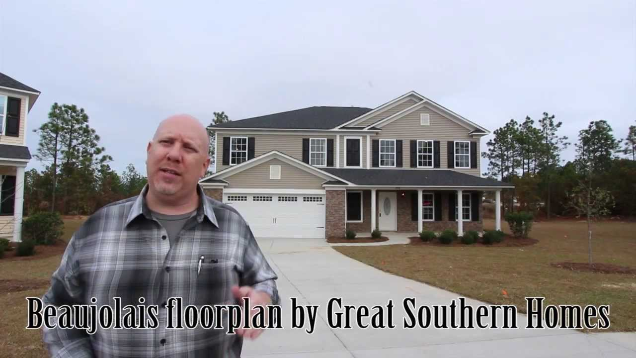 Beaujolais Floorplan Built By Great Southern Homes In