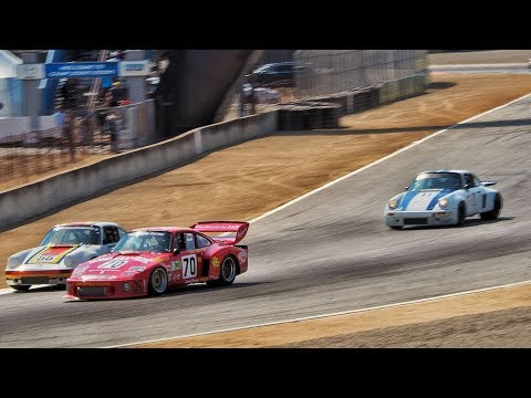Adam Carolla Races Porsche 935 at Monterey Historics (2017) - CarCast with Adam Carolla