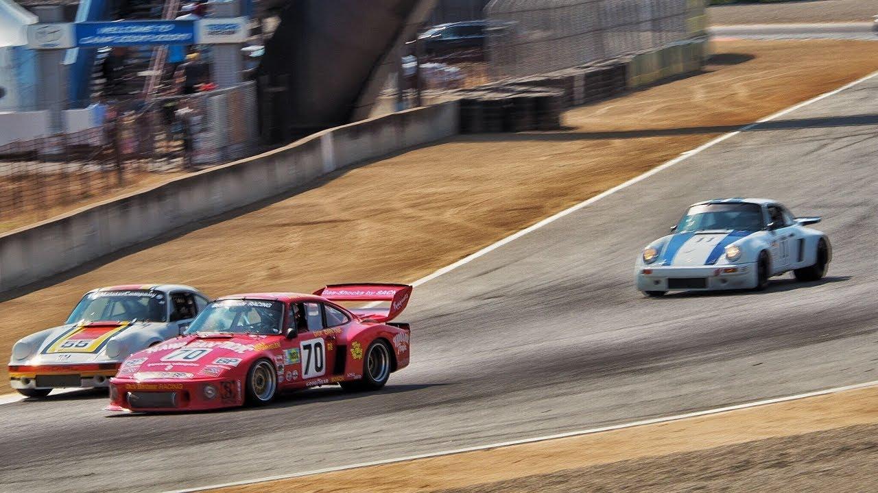 Adam Carolla Races Porsche 935 at Monterey Historics (2017 ...