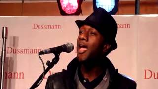 Aloe Blacc & Loomis Green (guitar) -  you make me smile - gedreht von UtiSaxo