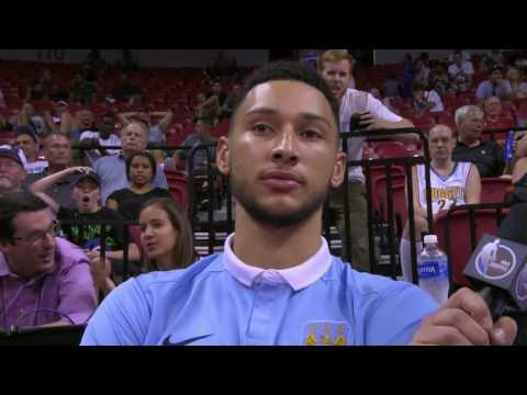 Ben Simmons First Interview In Over A Year | Summer League July 9th 2017