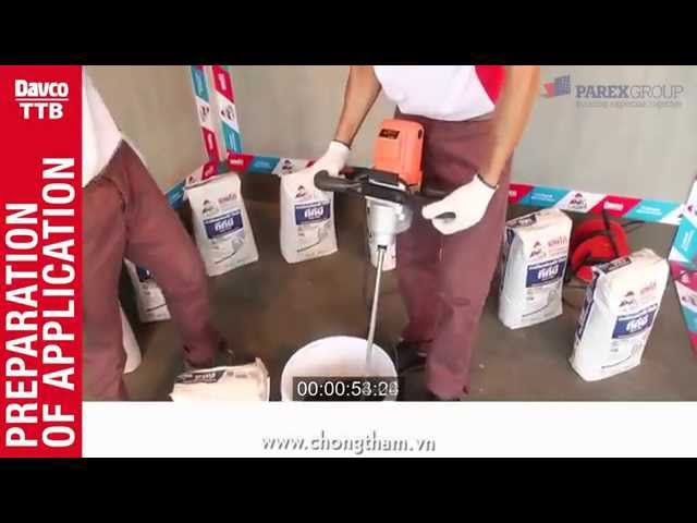 Hướng dẫn dán gạch đẹp như chuyên gia-keo dán gạch davco  ttb