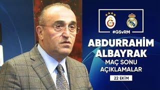🎙 2. Başkanımız Abdurrahim Albayrak'ın Maç Sonu Açıklamaları | #UCL #GSvRM