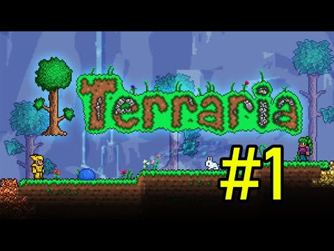Terraria Expert Mode Coop Playthrough #1- Getting Started [T