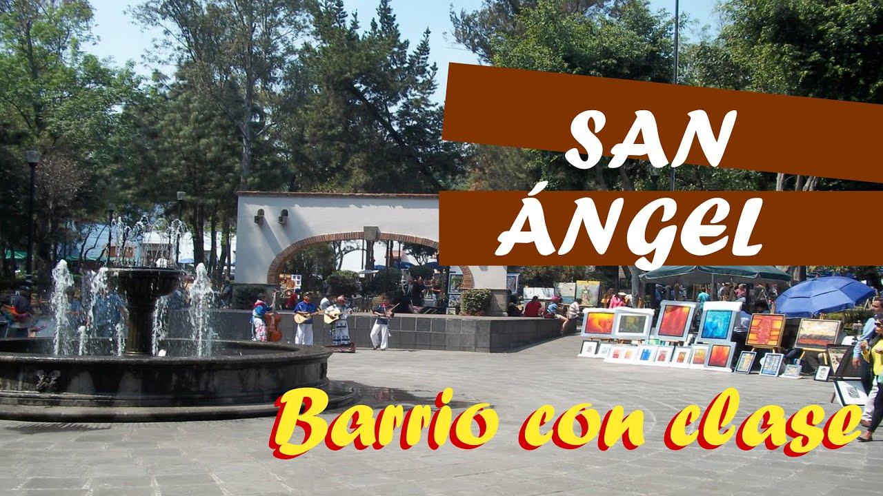 Un Barrio con clase que te va a encantar, San Angel Ciudad de México
