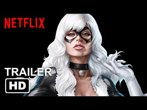 Marvel's THE BLACK CAT   Netflix  NYCC HD Amber Heard, Vincent D'Onofrio MADE
