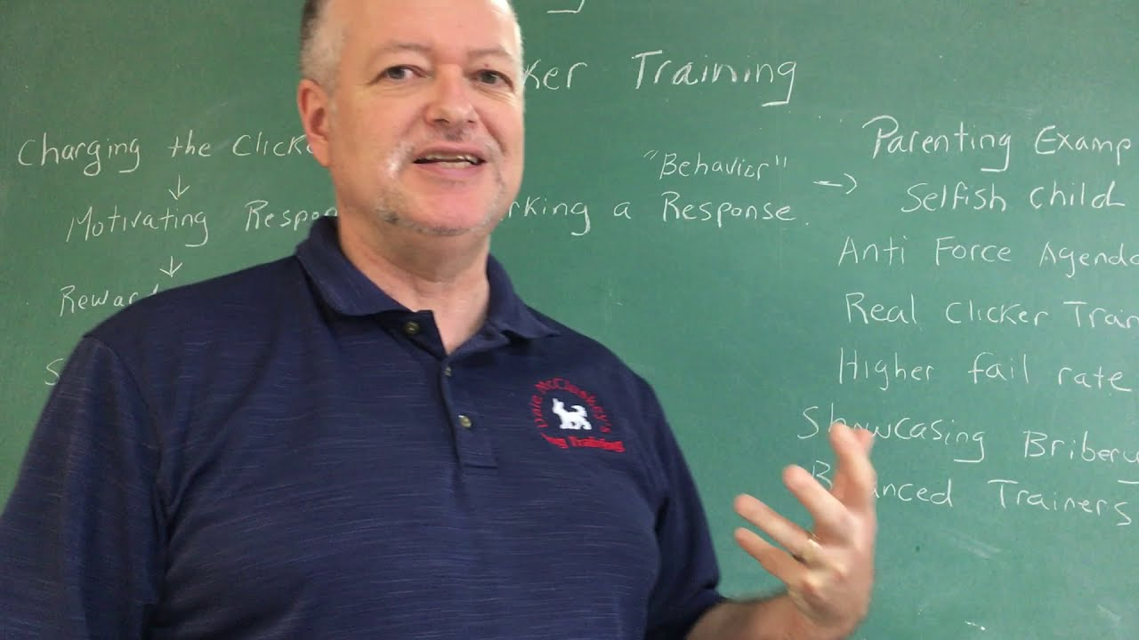 Learning Theory Breakdown -  Clicker Training - Pt 6