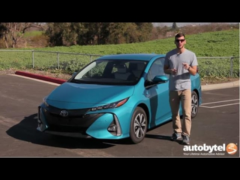 2017 Toyota Prius Prime Plug In Hybrid Test Drive Video Review