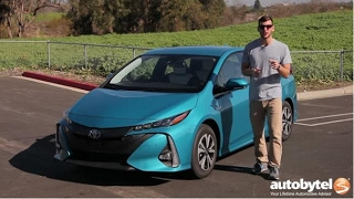 2017 Toyota Prius PRIME Plug-In Hybrid Test Drive Video Review