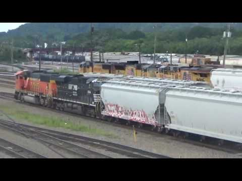 Railfanning at Debutts Yard 7-24-17