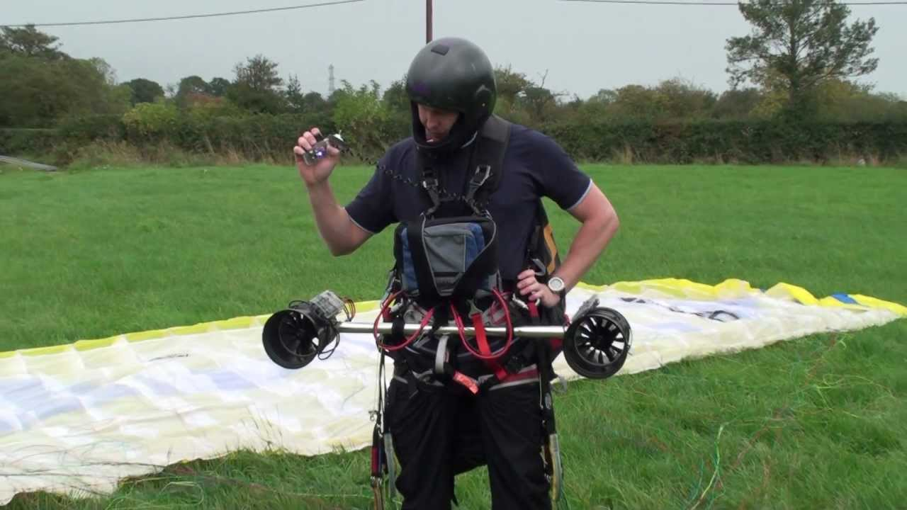 Paraglider Thrusters