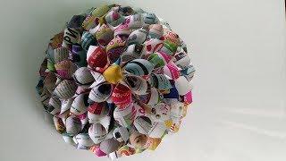 Как сделать объемный цветок 3D из бумаги своими руками. Поделки цветы оригами