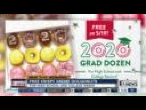 Krispy Kreme offering free doughnuts for graduating seniors