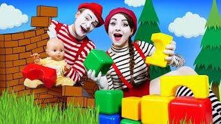 Смешные видео с куклами – Беби Бон и большая стройка! – Новые игры для детей онлайн.