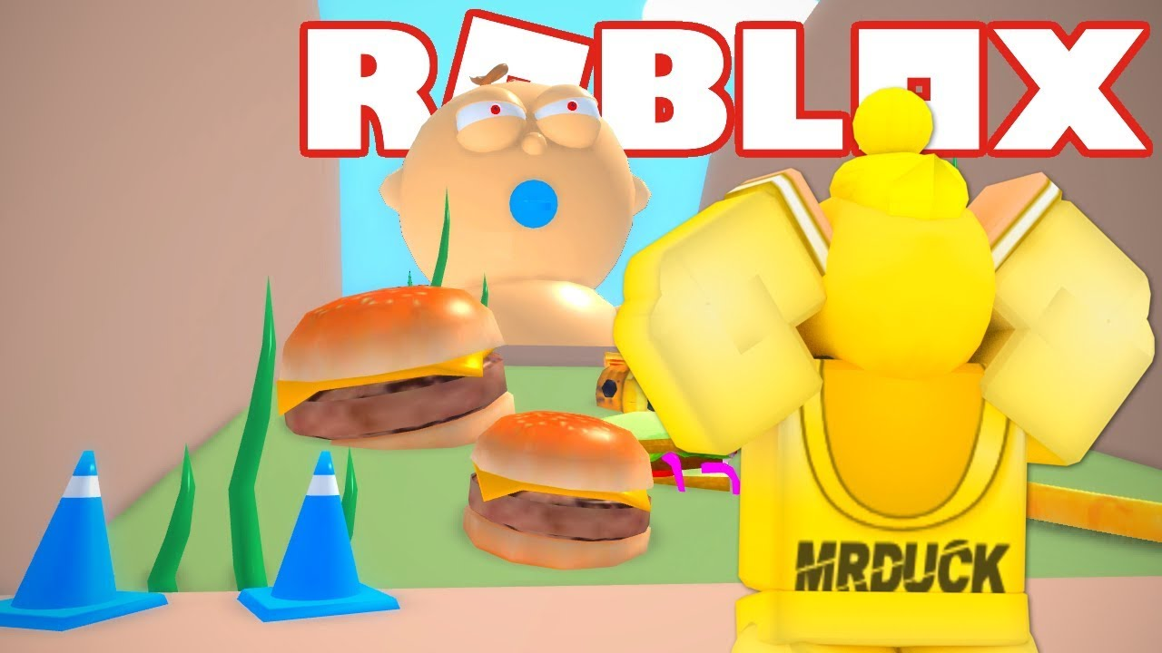 Get Eaten By A Baby Roblox Escape The Daycare Obby Youtube