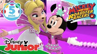 Mickey And The Roadster Racers | Fun Music Videos 🎶 | Disney Junior UK