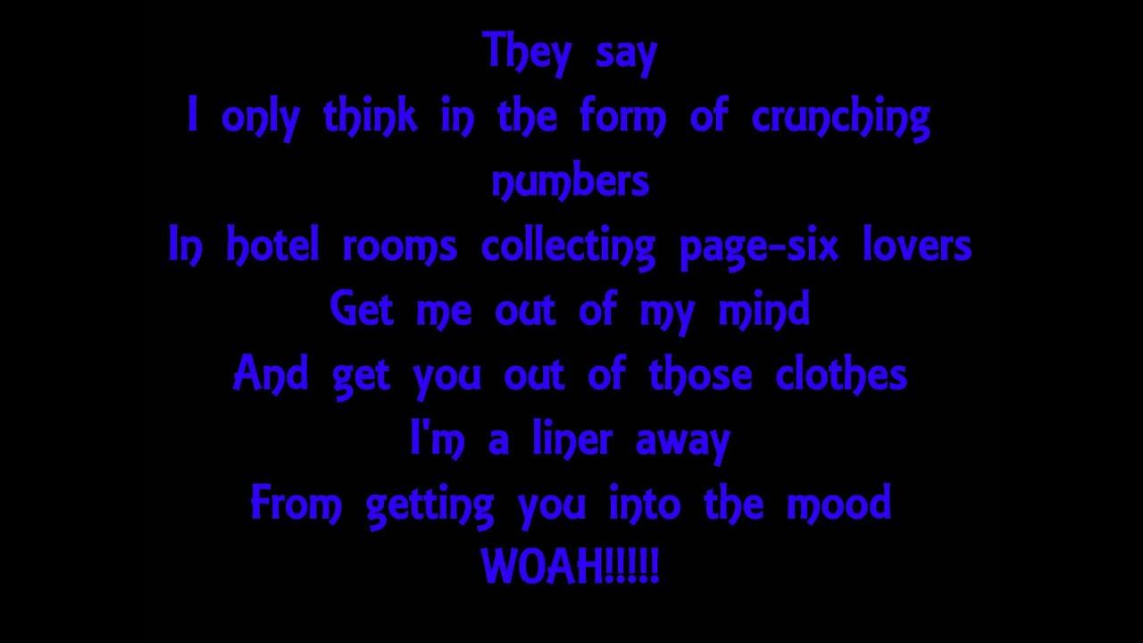 Fall Out Boy - Thnks Fr Th Mmrs (Chords)