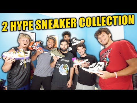 2HYPE SHOWS THEIR CRAZY SNEAKER COLLECTION *MUST SEE*