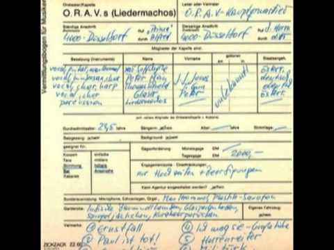 O.R.A.V.s (Liedermachos) - Ernstfall
