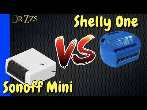Sonoff Mini Vs Shelly One - Head To Head Tiny Smart Switch Comparison