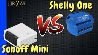 Sonoff Mini vs Shelly One - Head to Head Tiny Smart Switch Comparison