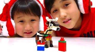 レゴのトナカイは以前ビックカメラでレゴのセットを買ったときに貰った...