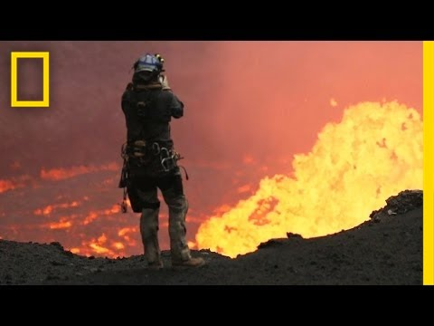 Drones Sacrificed for Spectacular Volcano Video | National G