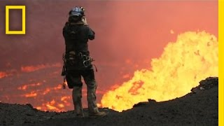 Drones Sacrificed for Spectacular Volcano Video | National Geographic