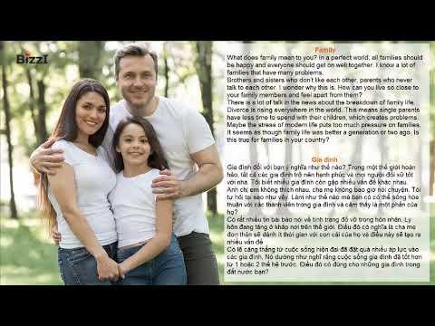 [BIZZI ENGLISH] LUYỆN NGHE THEO CHỦ ĐỀ – GIA ĐÌNH (FAMILY)