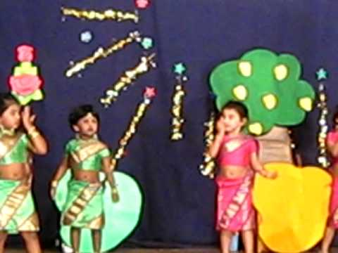 Anisha dance kidcare play school annual day function youtube for Annual function decoration