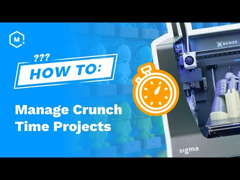 How To Manage Crunch Time Projects