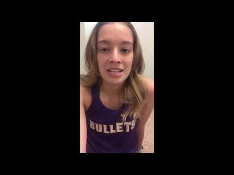 Williamsville High School 2020 Spring Sports Senior Night Spotlight Video: Caroline Gwaltney.