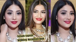 SONAM KAPOOR WEEDING RECEPTION  IINSPIRED MAKEUP  || SHYSTYLES