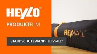 Staubschutzwand HEYWALL® [Heylo]: Wie renoviere ich staubfrei? Mobile Staubschutzwand im Einsatz