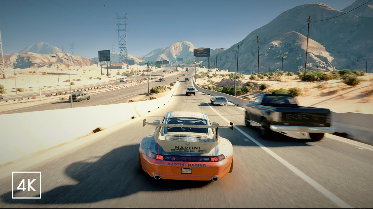 GTA V Remastered 2020? Realism Beyond Ray-Tracing Ultra Graphics MOD X Cinematic Presets