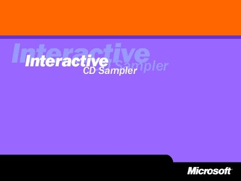 Microsoft Interactive CD Sampler Promotions (for Windows 95 to Windows ME, 1995 - 1999)