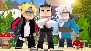 Minecraft: Who's Your Family? - SHIKADAI, BORUTO E MITSUKI